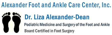 Alexander Foot and Ankle Care Center, Inc.